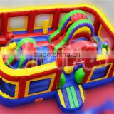 Cheap attractive inflatableobstacle course for children for sale