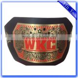 Directly China Factory Custom Made WKC boxing champion belt                                                                         Quality Choice
