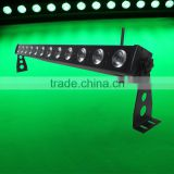 Elegant led rgbw multi colored slim wall washing light for wedding party backdrop decorate