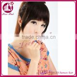 Fringe/Bangs 100% Human Hair Natural Black Color any length any color human hair fringes