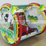 Hot selling indoor and outdoor Fun outdoor kids wheel ride happy car happy swing car game machine