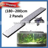 180cm/72inch/180W Freshwater fish live led aquarium light sunrise sunset smart controller