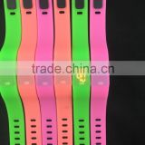 Hot selling LED eco-friendly outdoor sport gadget ,waterproof mini silicone wristband watch
