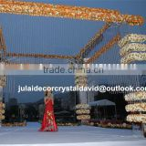 indoor door decorated flower arch for wedding arch garden arch artificial cherry blossom tree