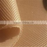 warp knit burn out polyester sandwich mesh fabric