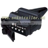 7 pin flat trailer plug,wire 7 pin trailer plug,trailer lights with cable socket