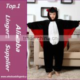 Bat Kigu Kids Cosplay Costume Wholesale Cheap Animal Pajamas Pyjamas Onesie
