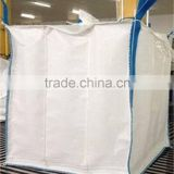 1 ton FIBC jumbo bag big bulk bag container bag PP material, breathable,moistureproof , any color chosen, uv treated