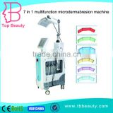 HIgh Quality 7 In 1 PDT Microdermabrasion Red Light Therapy Devices Machine For Sale Facial Led Light Therapy