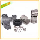 "SS304 SS316L 1.5"" DN40 48.3mm 316 stainless steel half socket/ coupling with flexible type and OEM factory"