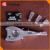 Pincers Aluminum Smoking Pipe ,Wholesale Dry Herb Pipe Tobacco Pipes Hot Sale