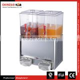 Commercial Hotel Juice Dispenser Hot & Cold Drink Vending Machine LRSP-20L*2