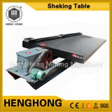 Good quality alluvial gold separating shaking table for gold, tin, tungsten