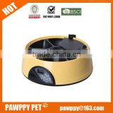 6 meal timer pet feeder/vibratory bowl feeders/digital automatic pet feeders