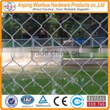 Basket ball field spoort field hot sale chain link wire mesh slats lowes factory gold supplier