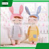 Promotion gift Metoo Angela baby kids Girl Bunny earn custom Figure Stuffed plush stuffed doll Toys