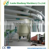 cloth pulse dust collector/ash separaor for graining cleaning machine