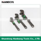 Black nickel finish adjustable wrench with good quality made in china