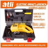 Atli Hot 12V electric impact wrench for car wheel
