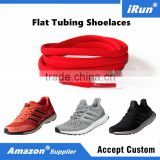 Tubular Runners Replacement Shoes Red Laces for Skate Boots, Hiking Boots, Casual Footwears - Amazon/eBay Supplier