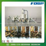 Wood pellet mill production line