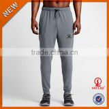 OEM men sport running pants wholesale /cotton or polyester men fitness jogger pants H-686
