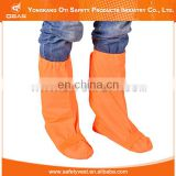 Attractive price reflective safety plastic foot cover