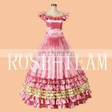 Sunshine-Free Shipping Custom Made Southern Belle Gown Civil War Ball Gown Two Colors Cosplay Costume