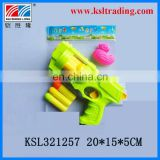 hand movement toys EVA soft bullet gun