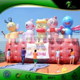 Custom Funny Inflatable Figure Wall for Children's Day, Hot Air Balloon Price, Inflatable Helium Sphere for Sale