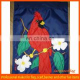 custom decorative applique garden flags