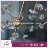Led Glass Ball Pendant Lamp The Sitting Room Lamp Lights Restaurant Creative Ball Chandelier Dance Hall Droplight