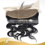 Original Human Hair Frontal Top Lace Closure Body Wace, Silky Straight