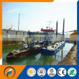 Non-propelled CSD-350 Cutter Suction Dredger