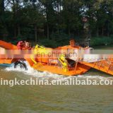 waterborne cleaning boat