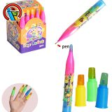 Finger Lollipop Hard Candy with Pen