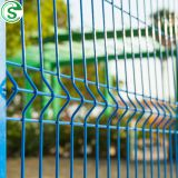 Powder coated metal fence panels welded wire mesh fences