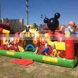Backyard party fun magic bouncy castle inflatable mickey bounce house