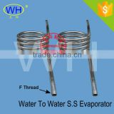 strong anti-corrision stainless steel heating and cooling coil for heat exchanger