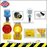 High Brightness Warning Solar Barricade Light For Post