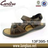 men genuine leather sandal beach sandal summer sandal 2016