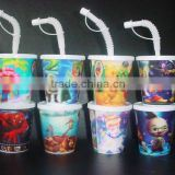 3d lenticular plastic cup shenzhen/china