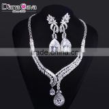 New Luxury Statement Design Cubic Zirconia African Style Big Fashion Jewelry Set