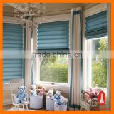 Curtain times double roman shade for bedroom decorate window electric blinds
