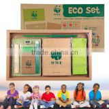 Custom Learning & Playing kids kraft stationery boxes eco friendly products wholesale