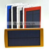 Special new arrival black waterproof solar power bank,20000MAH Solar Power Bank                                                                         Quality Choice