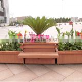flower pots for garden decoration large vase Wooden color flower pot