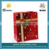 2014 fashion Packaging gift bag xmas paper bag