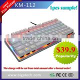 2016 latest 78keys mini RGB mechanical keyboard                                                                         Quality Choice