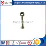 forged black lifting eye anchor